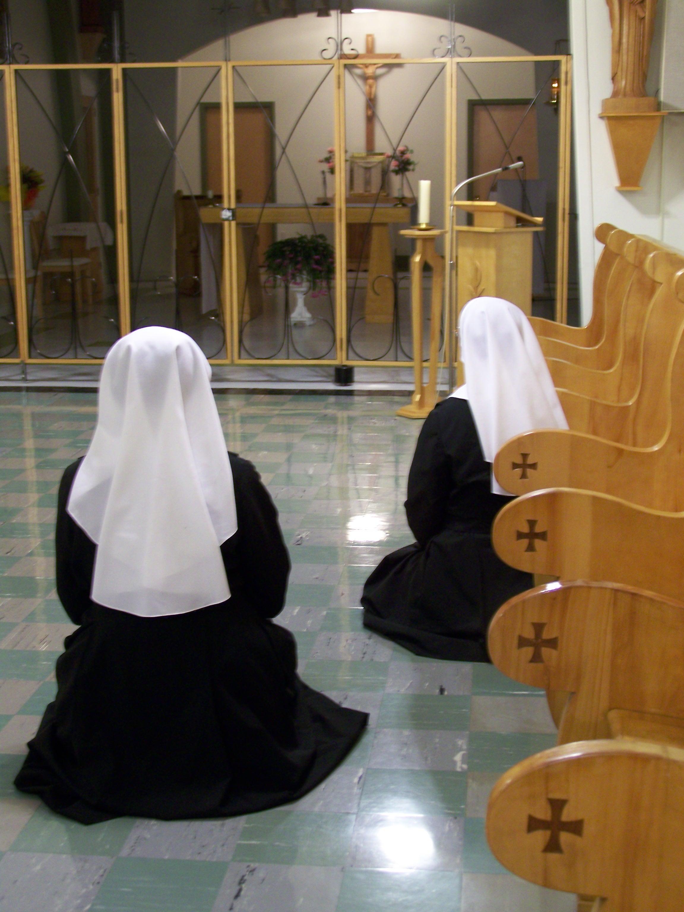 prieres au choeur